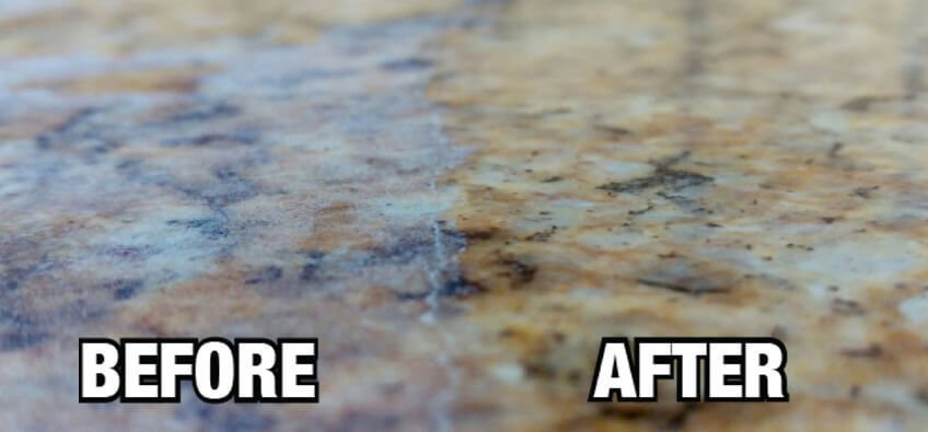 granite countertop renewal in logan